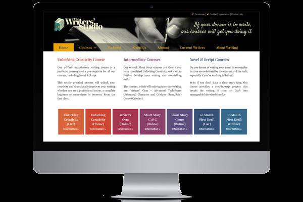 The Writers' Studio brand and website update
