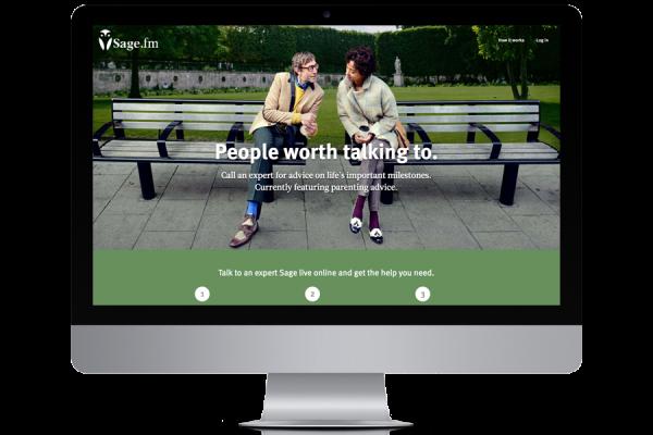 Sage.fm video conversation platform