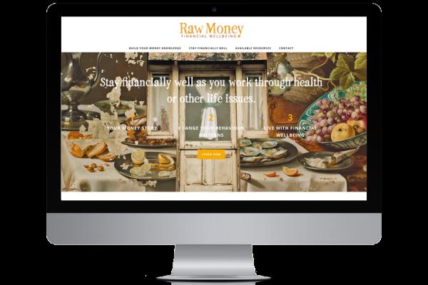 Raw Money financial therapy brand